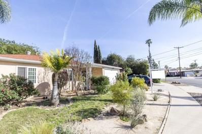 5735 Nagel, La Mesa, CA 91942 - MLS#: 180015213