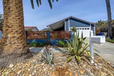 5175 Andrew Jackson St, Oceanside, CA 92057 - MLS#: 180015591