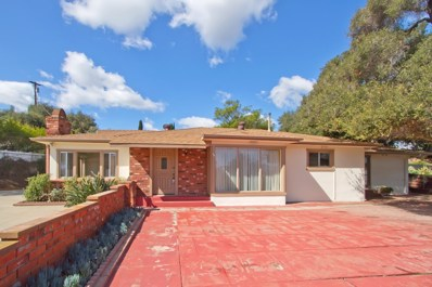 2666 Olive Hill Rd, Fallbrook, CA 92028 - MLS#: 180015694