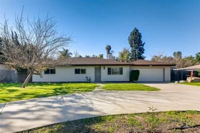 2131 Avenida Del Diablo, Escondido, CA 92029 - MLS#: 180016110