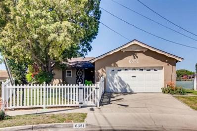 6351 Beatrice Ct, San Diego, CA 92139 - MLS#: 180016190