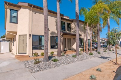 1280 Robinson UNIT D, San Diego, CA 92103 - MLS#: 180016324