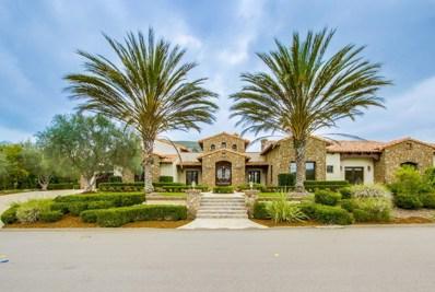 18027 El Brazo, Rancho Santa Fe, CA 92067 - MLS#: 180016566