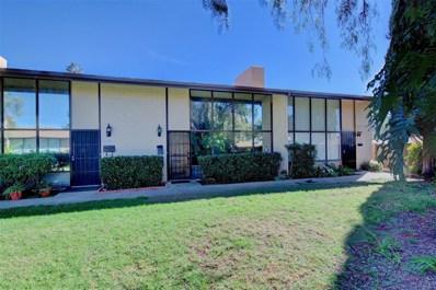 5750 Amaya Drive UNIT 17, La Mesa, CA 91942 - MLS#: 180016589