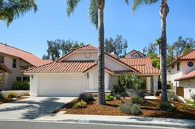 16484 Calle Pulido, San Diego, CA 92128 - MLS#: 180016684