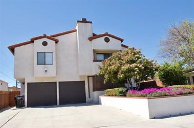 4752 Hawley Blvd UNIT 3, San Diego, CA 92116 - MLS#: 180016772