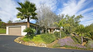 1127 Via La Cuesta, Escondido, CA 92029 - MLS#: 180016974