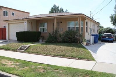 450 Claydelle Ave., El Cajon, CA 92020 - MLS#: 180017008