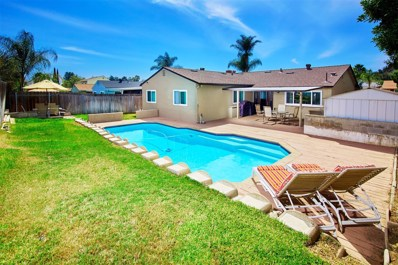 10033 Woodpark Drive, Santee, CA 92071 - MLS#: 180017228
