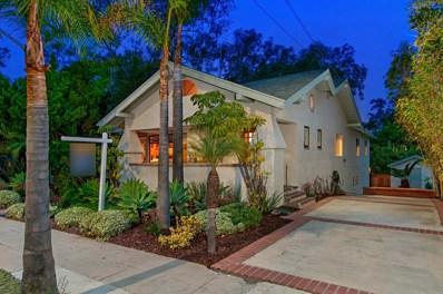 3675 Eagle St, San Diego, CA 92103 - MLS#: 180017434