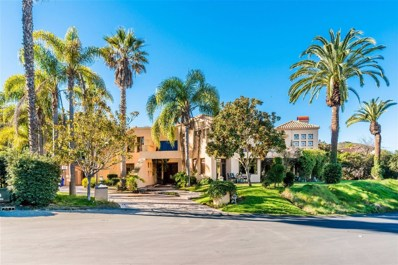 6395 Clubhouse Drive, Rancho Santa Fe, CA 92067 - MLS#: 180017517