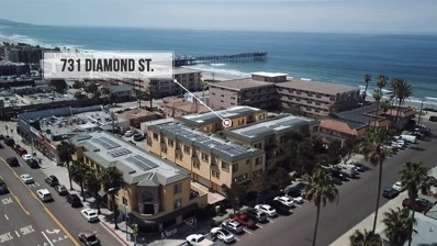 731 Diamond St, San Diego, CA 92109 - MLS#: 180017744