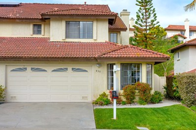 830 Summersong Ct., Encinitas, CA 92024 - MLS#: 180018006