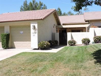 17832 Avenida Cordillera UNIT 25, San Diego, CA 92128 - MLS#: 180018462