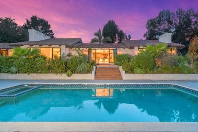 17174 El Vuelo, Rancho Santa Fe, CA 92067 - MLS#: 180018896