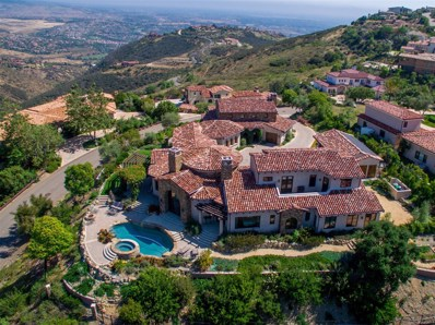 8060 Camino De Arriba, Rancho Santa Fe, CA 92067 - MLS#: 180019512