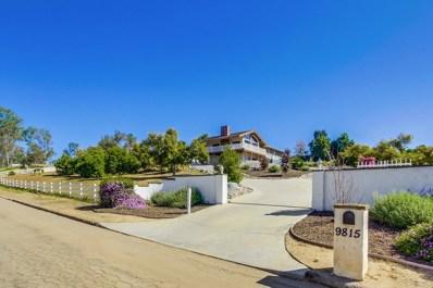 9815 Circa Valle Verde, El Cajon, CA 92021 - MLS#: 180020069
