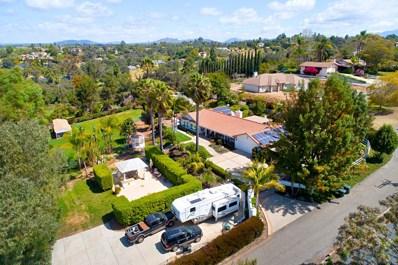 1560 Norstar Lane, Fallbrook, CA 92028 - MLS#: 180020422