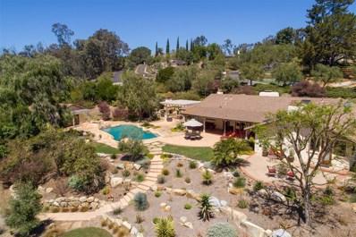 5441 El Cielito, Rancho Santa Fe, CA 92067 - MLS#: 180020968