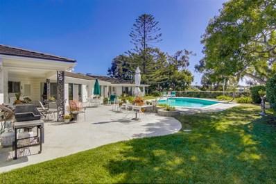 1751 Colgate Circle, La Jolla, CA 92037 - MLS#: 180021084