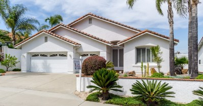 4934 Lassen Drive, Oceanside, CA 92056 - MLS#: 180021517