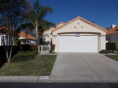 40161 Corte Peralta, Murrieta, CA 92562 - MLS#: 180021577