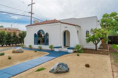4520 Marlborough Drive, San Diego, CA 92116 - MLS#: 180022653