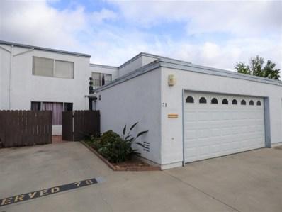 1640 Maple Dr. UNIT 78, Chula Vista, CA 91911 - MLS#: 180022719