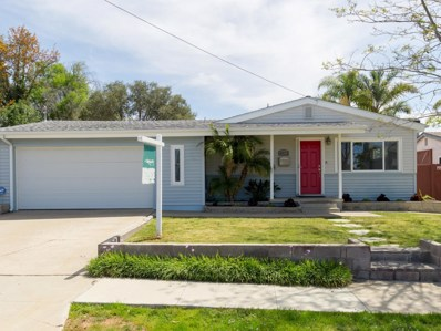 4973 Dubois Drive, San Diego, CA 92117 - MLS#: 180022825