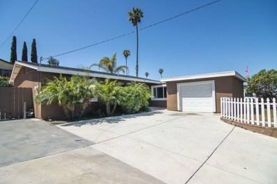 18 Palomar St, Chula Vista, CA 91911 - MLS#: 180023584