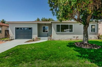 167 Millan St, Chula Vista, CA 91910 - MLS#: 180023760
