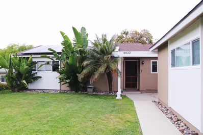 4022 Lonnie St, Oceanside, CA 92056 - MLS#: 180023850