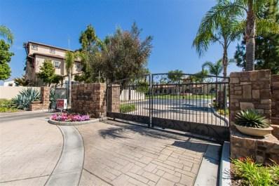 1341 Caminito Dante UNIT 4, Chula Vista, CA 91915 - MLS#: 180023889