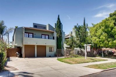 4622 Felton St UNIT 5, San Diego, CA 92116 - MLS#: 180023957