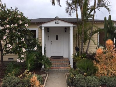 1638 Sunset Cliffs Blvd., San Diego, CA 92107 - MLS#: 180024352