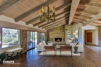 5002 El Acebo Del Norte, Rancho Santa Fe, CA 92067 - MLS#: 180024691