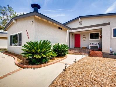 5805 Dugan Ave, La Mesa, CA 91942 - MLS#: 180024746