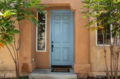 1458 Claude Ln UNIT 1, Chula Vista, CA 91913 - MLS#: 180024813