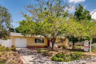 3611 Niblick, La Mesa, CA 91941 - MLS#: 180025435