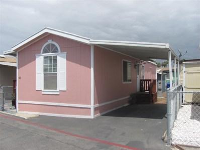 1381 Palm Avenue UNIT 42, San Diego, CA 92154 - MLS#: 180025522