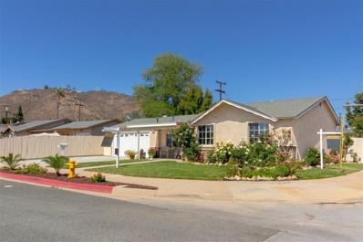 1701 Peppervilla Dr, El Cajon, CA 92021 - MLS#: 180025544