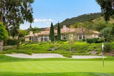 6311 Clubhouse Drive, Rancho Santa Fe, CA 92067 - MLS#: 180025695