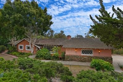 5801 Loma Verde, Rancho Santa Fe, CA 92067 - MLS#: 180025707