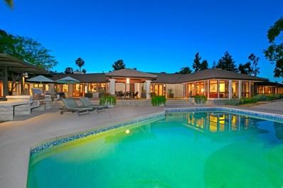16611 Zumaque, Rancho Santa Fe, CA 92067 - MLS#: 180025717