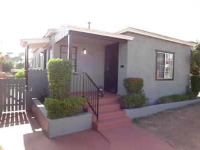 814 40Th St, San Diego, CA 92102 - MLS#: 180025764