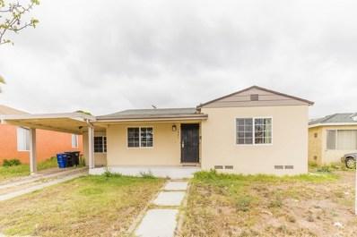 1061 Jefferson, Chula Vista, CA 91911 - MLS#: 180026121