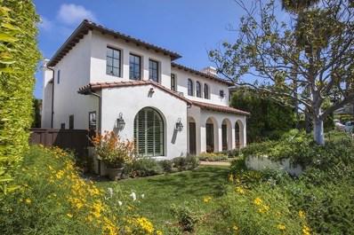 1156 Virginia Way, La Jolla, CA 92037 - MLS#: 180026230