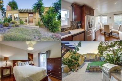 1819 Edgemont, San Diego, CA 92102 - MLS#: 180026291