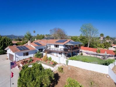 1345 Loma De Naranjas, Escondido, CA 92027 - MLS#: 180026735