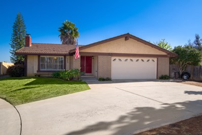 865 Montview Drive, Escondido, CA 92025 - MLS#: 180026809